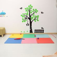 1 pcs / lot childrens EVA foam pad baby crawling thickening splicing soft surface size60*60cm*1.2cm