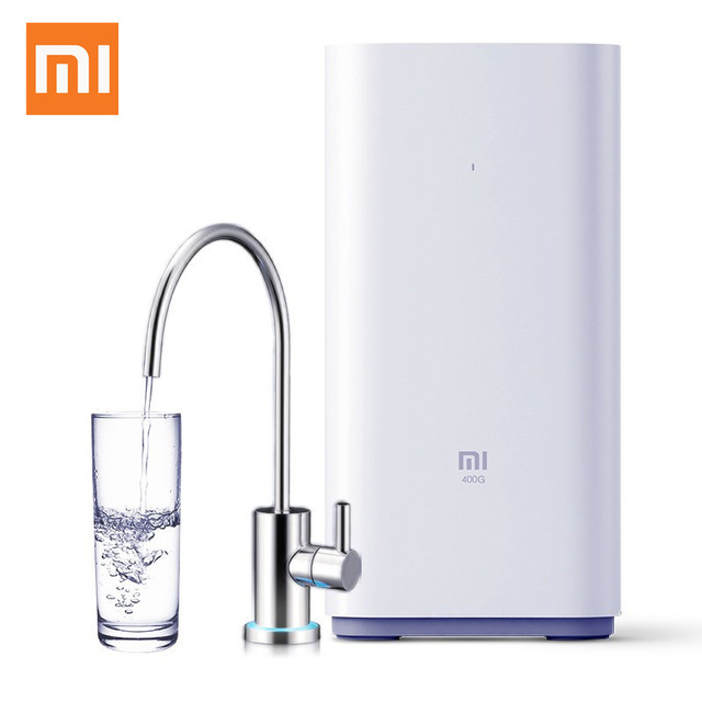 Original Xiaomi Water Purifier 400 Gallon Mi Health Water Filters Support Mi Home APP Control smart remote control