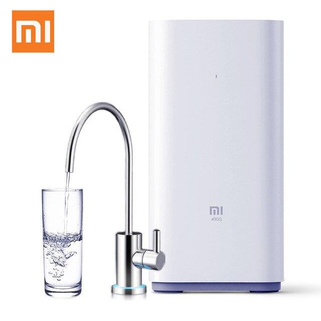 Purificador de agua Original Xiaomi 400 galones Mi filtros de agua de salud compatible con Mi Control remoto inteligente de aplicación para el hogar
