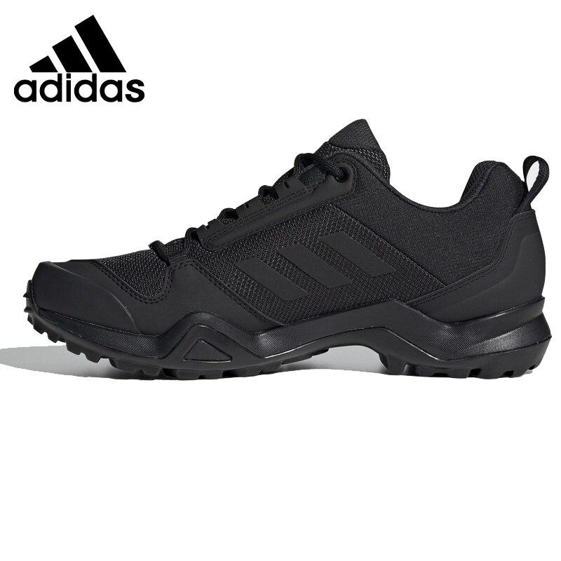 D'origine Adidas Marque nouveauté 2019 TERREX AX3 Hommes chaussures de randonnée de Sports de Plein Air Sneakers à lacets Respirant Synthétique BC0524