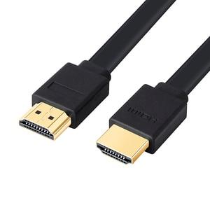 Image 5 - LOS 3FT el 0.3 M 1.5 M 2 M 3 M 5 M 7.5 M 10 M 15 M Chapado En Oro Plug macho Macho Cable HDMI 1.4 Versión Plana línea corta 1080 p 3D para PS3HDTV