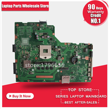 For ASUS A75A X75A X75A1 X75VB laptop motherboard HM76 REV:2.0 4GB RAM PGA989 mainboard 100% working