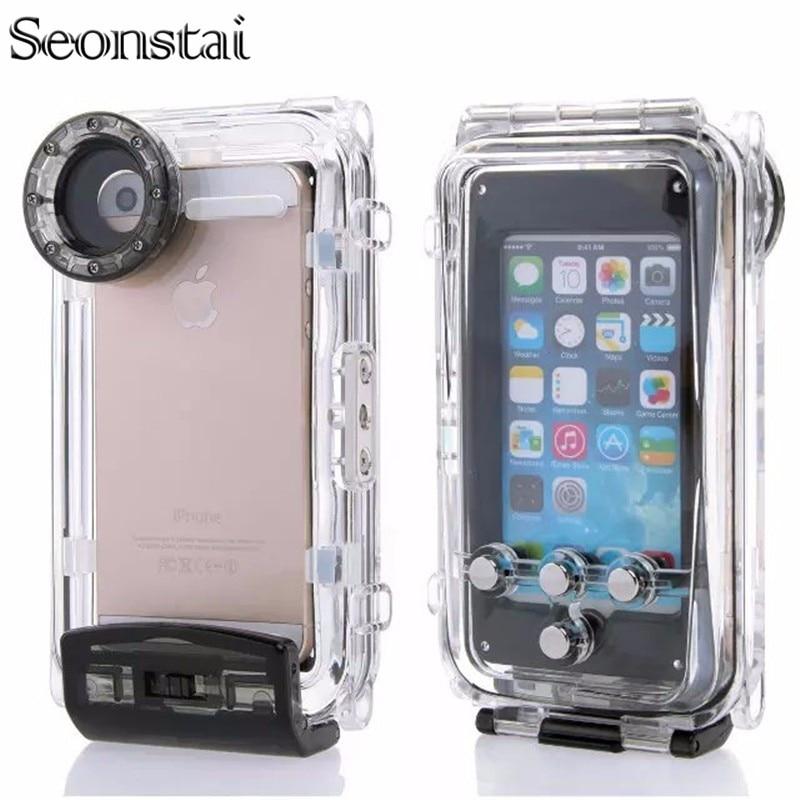 Seonstai Waterproof Case for iPhone 5s Underwater Phone