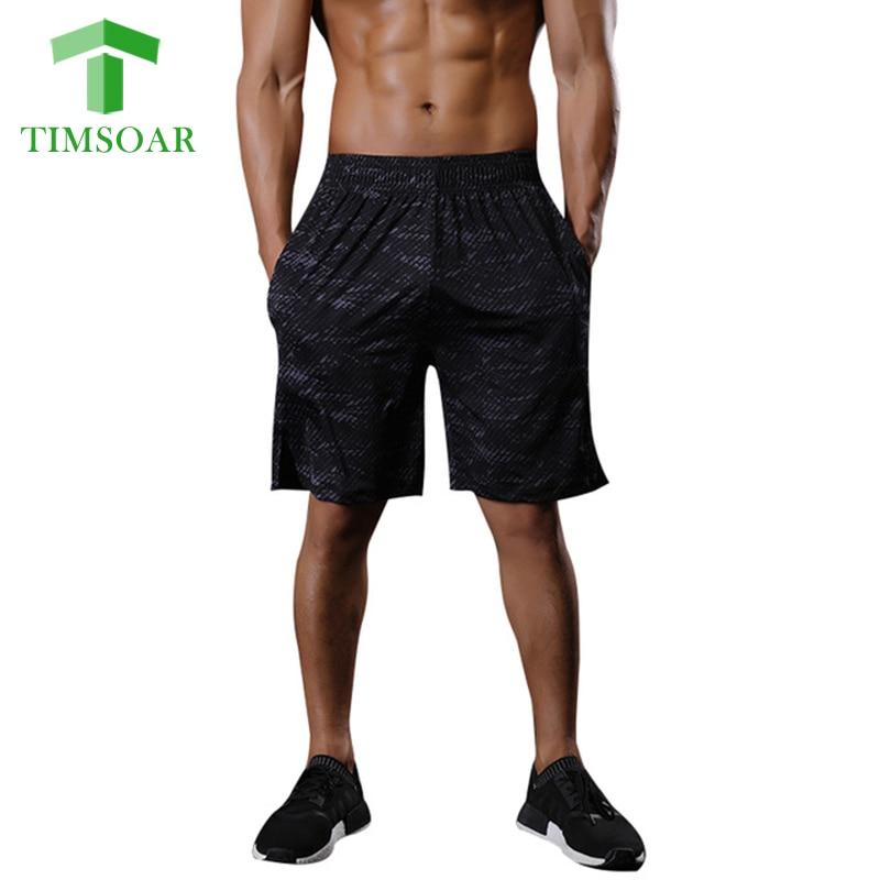 Timsoar Sports Mens Shorts Summer Midwaist Gym Training Shorts Fitness Running Pants Men ...