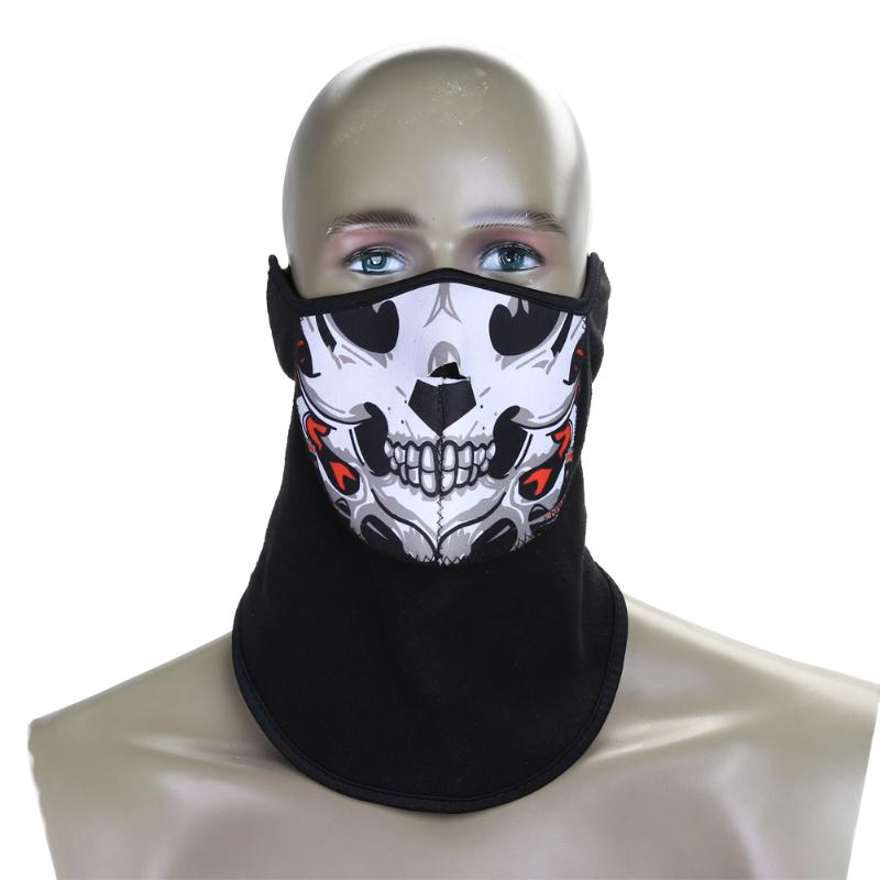 Neoprene Neck Warm Half Face Mask Winter Sport Access Windproof Outdoor-Masks