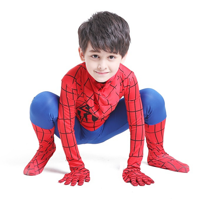 Shopping Hot Spiderman Siamese Tights Costume