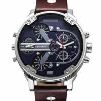 Luxury Brand Men Quartz Wrist Watch Dual Movement Sports Watch CAGARNY Man Casual Watches Relogio Male Relojes Clock Men