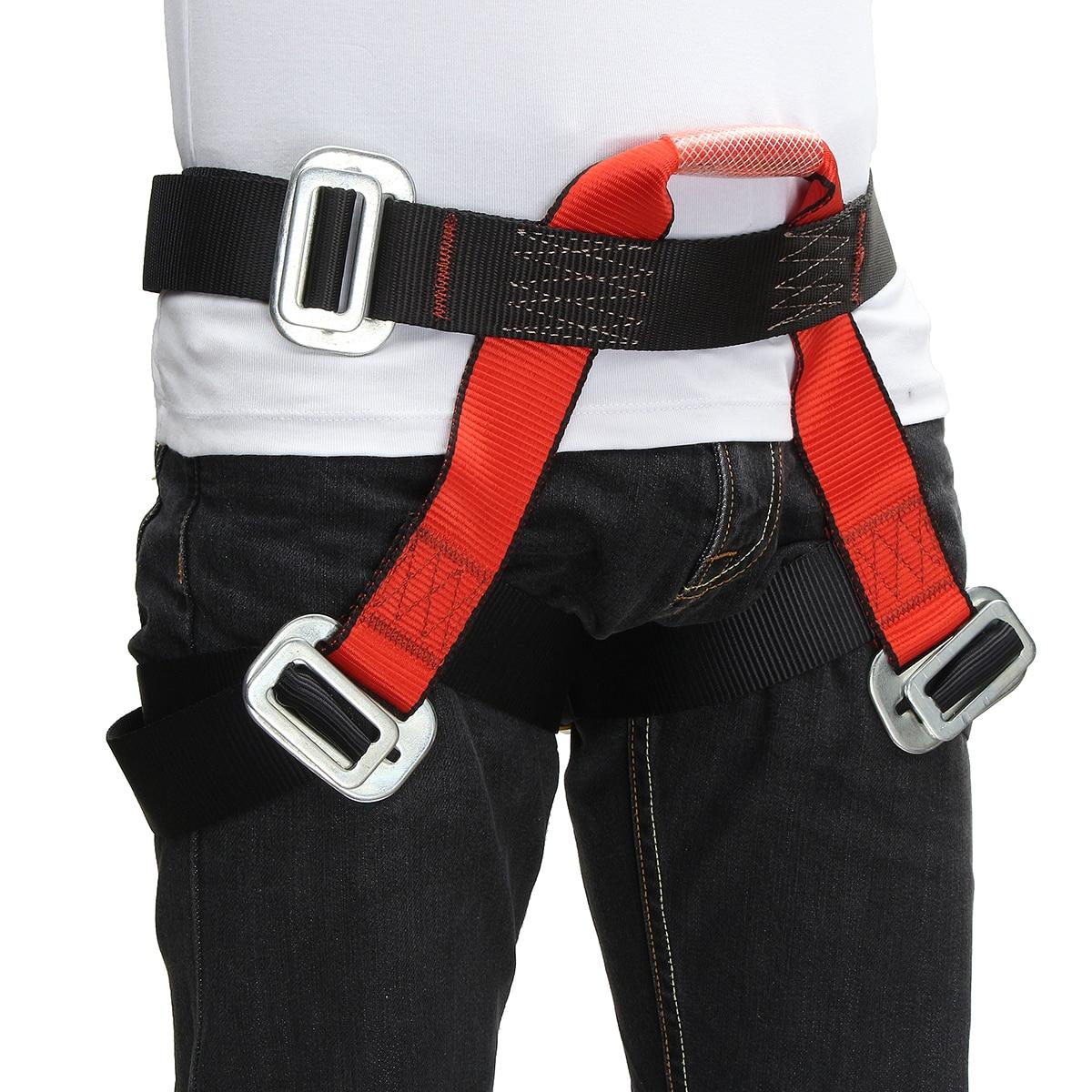 Ceinture de sécurité d'escalade extérieure demi-corps escalade accessoires protection pour escalade descente harnais rappel ceinture 2019 nouveau