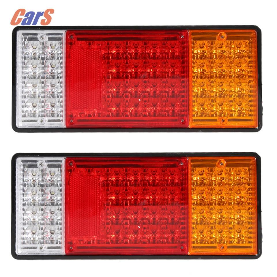 2 STKS 44 LEDs Truck Achterlicht HM-022 Waterdichte Auto - Autolichten - Foto 4