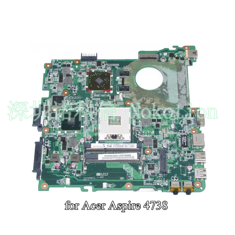 DA0ZQ9MB6C0 MBRBL06001 MB.RBL06.001 For acer aspire 4738 laptop motherboard HM55 ATI graphics