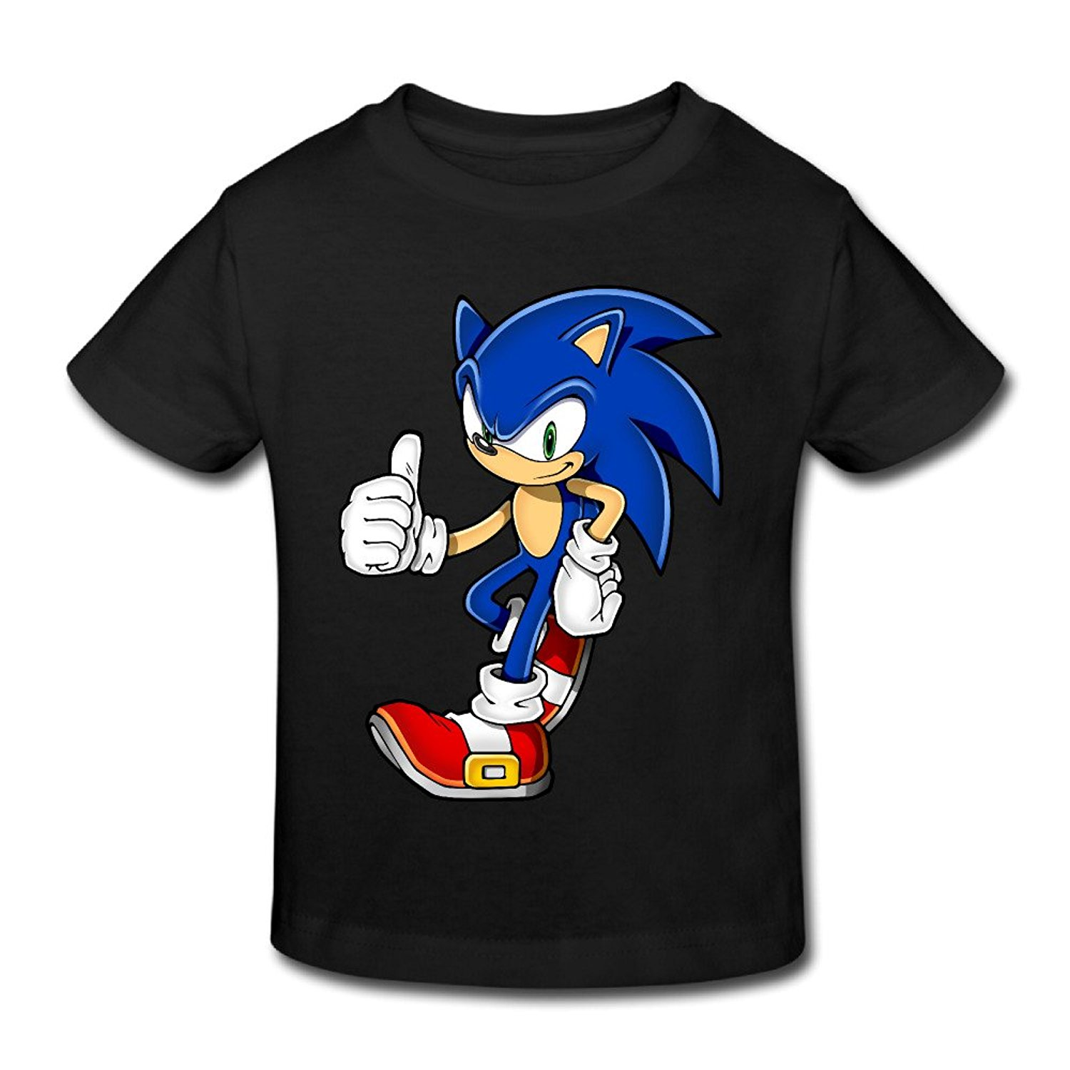 Toddler S 100 Cotton Cool Sonic The Hedgehog Style T Shirt Style