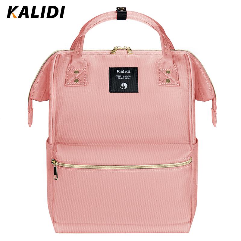 KALIDI Fashion Backpack Women Diaper Bag Mummy Maternity Nappy Bag Large Capacity Travel Backpack Designer Multi-Pocket Backpack