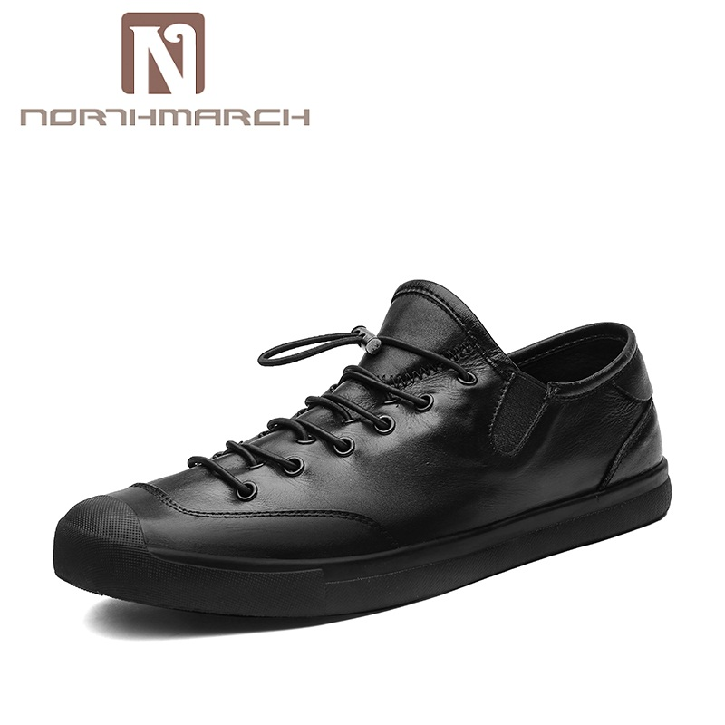 NORTHMARCH Spring/Autumn Casual Shoes For Men Sneaker Comfortable Fashion Loafers Men Lace-Up Adult Male Shoes Zapatos Hombre plush casual suede shoes boots mens flat with winter comfortable warm men travel shoes patchwork male zapatos hombre sg083