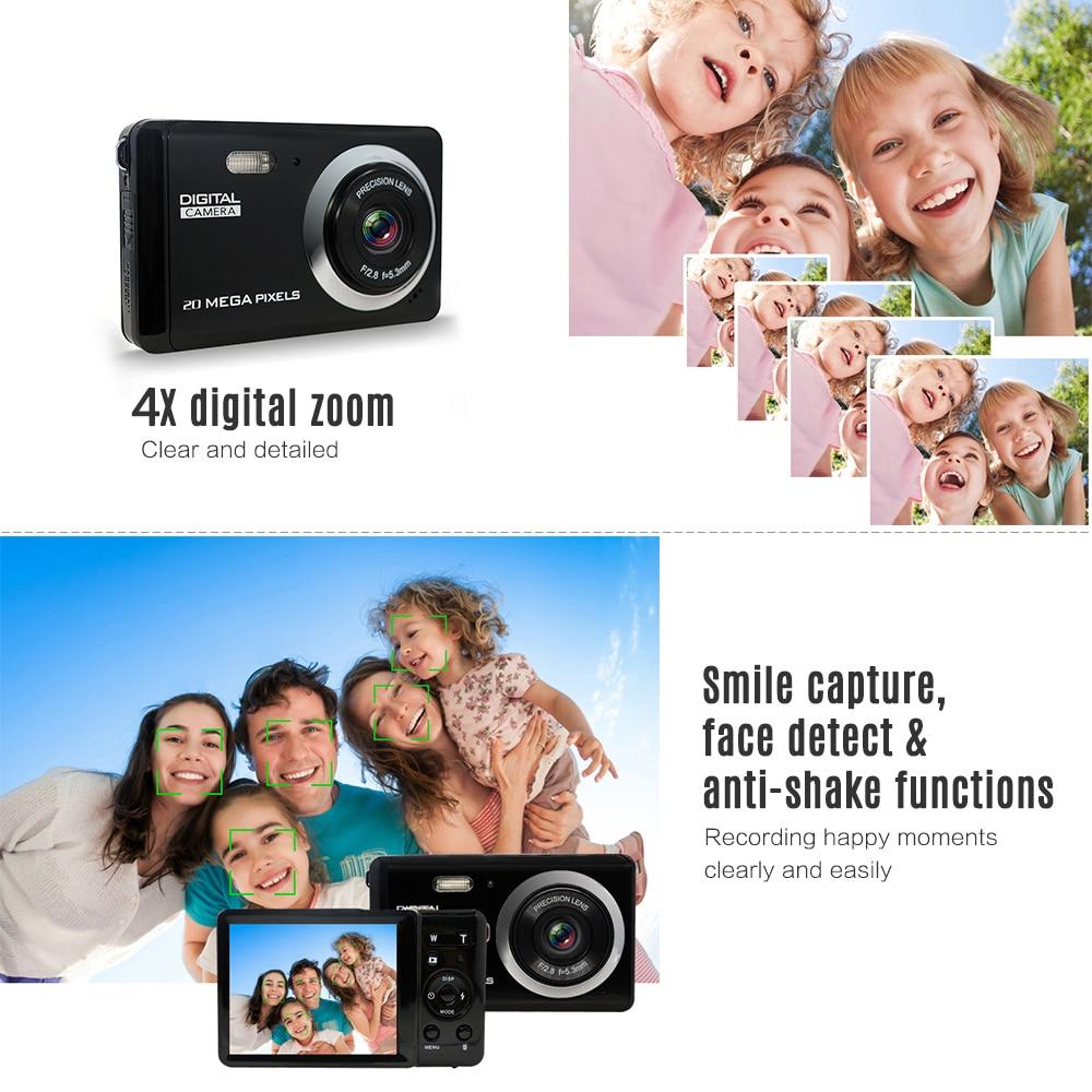"HD Mini Digital Video Camera Camcorder 3"" LCD 8 Mega Pixels Voice Video Recorder Anti-shake Video Camera Birthday New Year Gift"