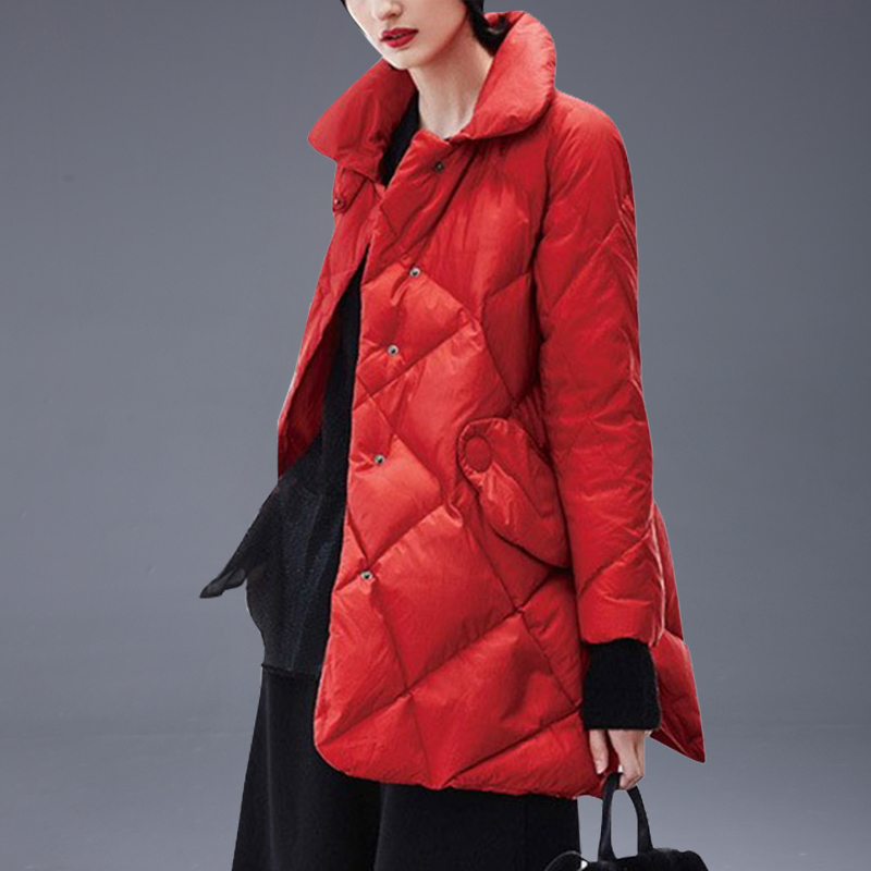 2019 Autumn Winter Long   Down     Coat   Female Parka Ultra Light   Down   Jacket Women Fashion WarmJacket Women PP088