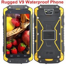New guophone V9 IP68 Rugged Waterproof 4000mAH cell Phone MTK6572 Android 4.4 4.5″IPS 512MB+4GB WCDMA 3G mobile Phone