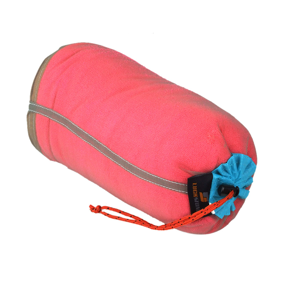 Image 5 - Ultralight Drawstring Mesh Stuff Sack Storage Bag Case for headphones Tavelling Camping Sports Large/Medium/Small Size-in Storage Bags from Home & Garden