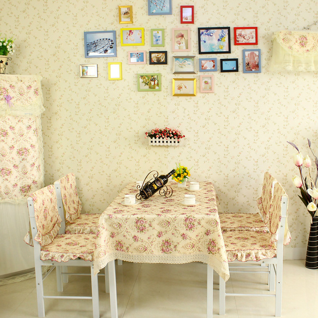 Home textile fabric exquisite dining table cloth 130 150