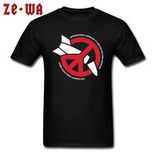 04586f9b Nuclear Logo World Peace No War Symbol Tshirts Mens Black Fashion T Shirt  Father's Day 100