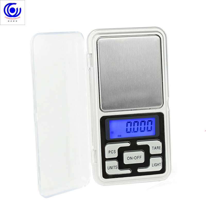 Miniature mobile phone electronic balance said gift precision jewelry scale pocket scales portable palm kitchen measuring