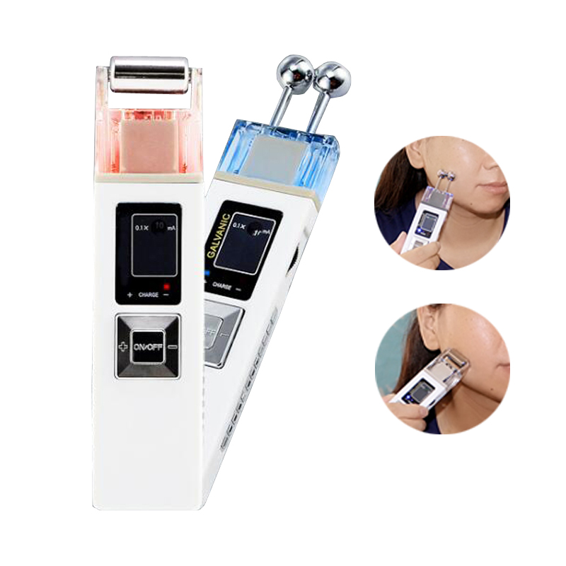 Skin Care Galvanic Facial Massager Ion Microcurrent Skin Firming Machine Iontophoresis Face Cleaning Anti-aging SPA Salon Beauty anti acne pigment removal photon led light therapy facial beauty salon skin care treatment massager machine