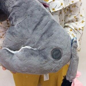 Image 3 - Jouet en peluche doux 36cm, 14 pouces, Animal gris, mignon, poupée, Collection de cadeaux pour anniversaire, pour enfants, livraison gratuite