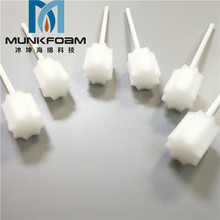 500pcs/pack Disposable Oral Care Sponge Swab for home care,White, Untreated and Unflavored