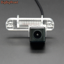 цена на BigBigRoad Car Rear View Camera For Mercedes Benz R SLK Class W209 W219 R171 W164 M Class W164 ML 2005-2011 GL X164 CL W215 C215