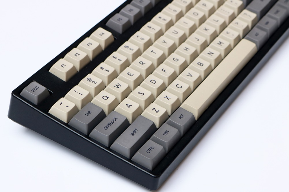MP 108 Dolch Keycaps XDAS Profiles PBT Keycap English Version 108 Keys Dye-Sublimated  Keycaps For Mechanical Gaming Keyboard