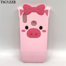 For Huawei P20 Lite Case Nova 3E Cover Phone Shockproof Soft Silicone 3D Cute Cartoon Ice Cream Stitch Unicorn Cat Bottle Funda