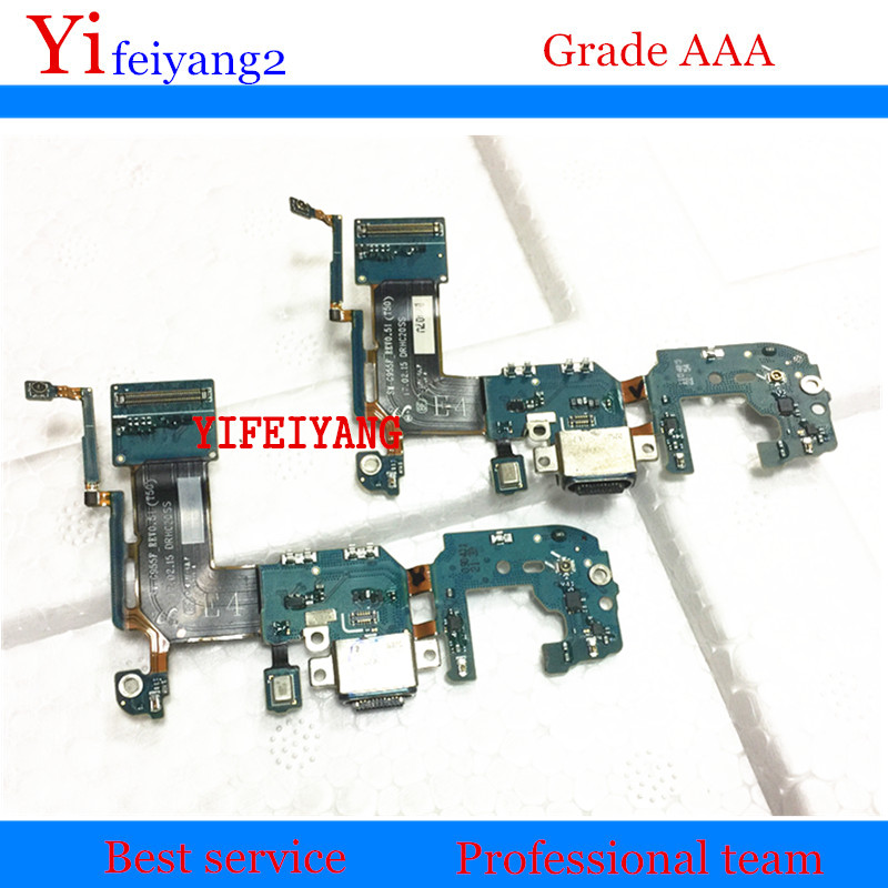 10pcs OEM charger charging connector usb dock port plug flex cable For Samsung Galaxy S8 plus