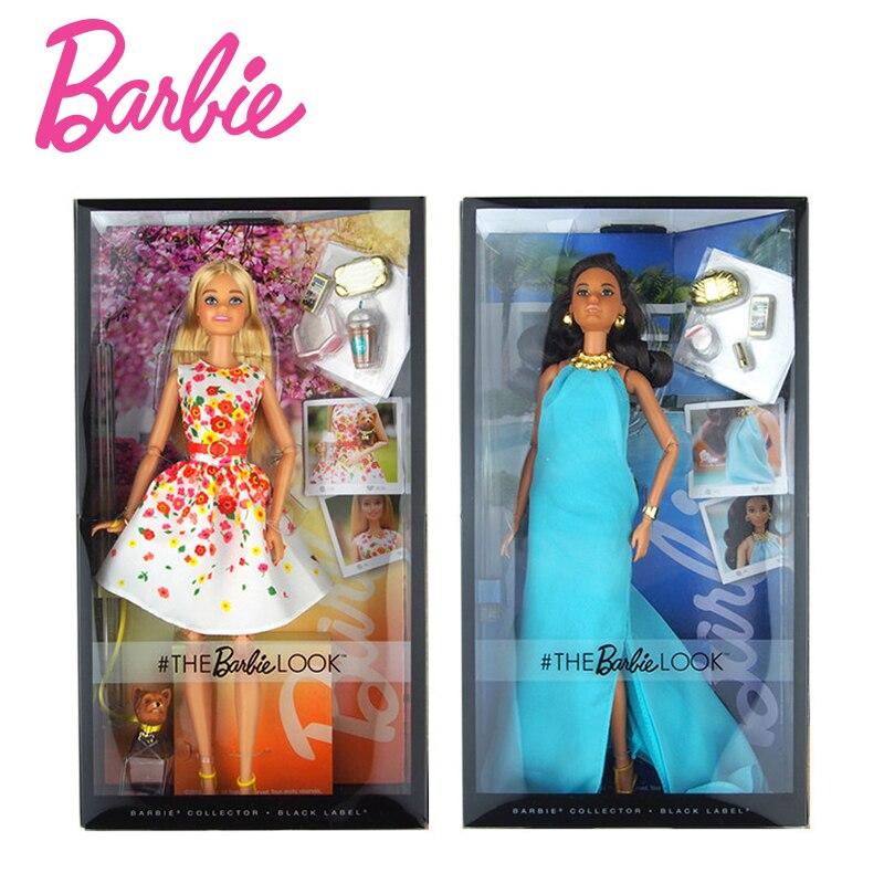 Оригинальные куклы Барби улица оснастки Стиль суставов подвижный Мода Барби девушка Интимные аксессуары детской одежды день игрушка в под...