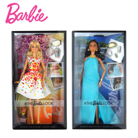 Original Barbie Doll Street Snap Style Joints Movable Fashion Barbie Girl Accessories Clothes Children's Day Gift Toy For Girl
