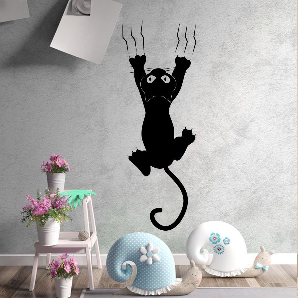 Lazy Cat Wall Sticker Creative Vinyl Stickers Home Room