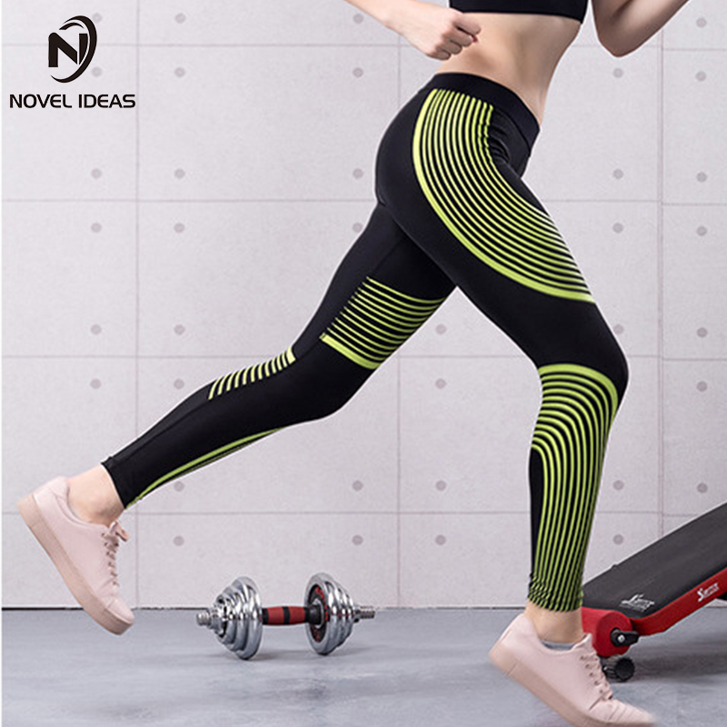 2018 Sport Leggings High Waist Compression Pants Gym Clothes Sexy Running Yoga Pants Women Sports Leggings Fitness Yoga Pants