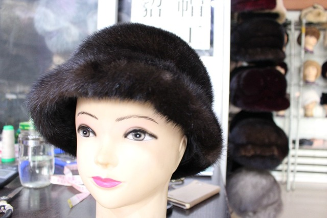 2016 new real fur  mink fur hats fashion women cap winter warm freeshipping