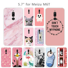 For Meizu M6T Silicone TPU Pink Phone Cases Luxury Fundas So