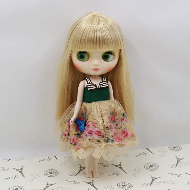 Middie Blythe Doll Multi-Color Hair 20cm 15