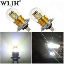 WLJH 2x High Power Bright White H7 LED C'REE 3535 Chip 25W Car Replacement Fog Lamp Lights Auto DRL Driving Light Bulb 12V 24V