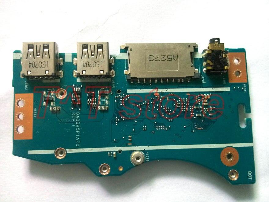 original for UX501J UX501JW N501J N501JW usb wlan audio board N501JW IO BOARD DA0BK5PIAF0 DAOBK5PIAF0 free
