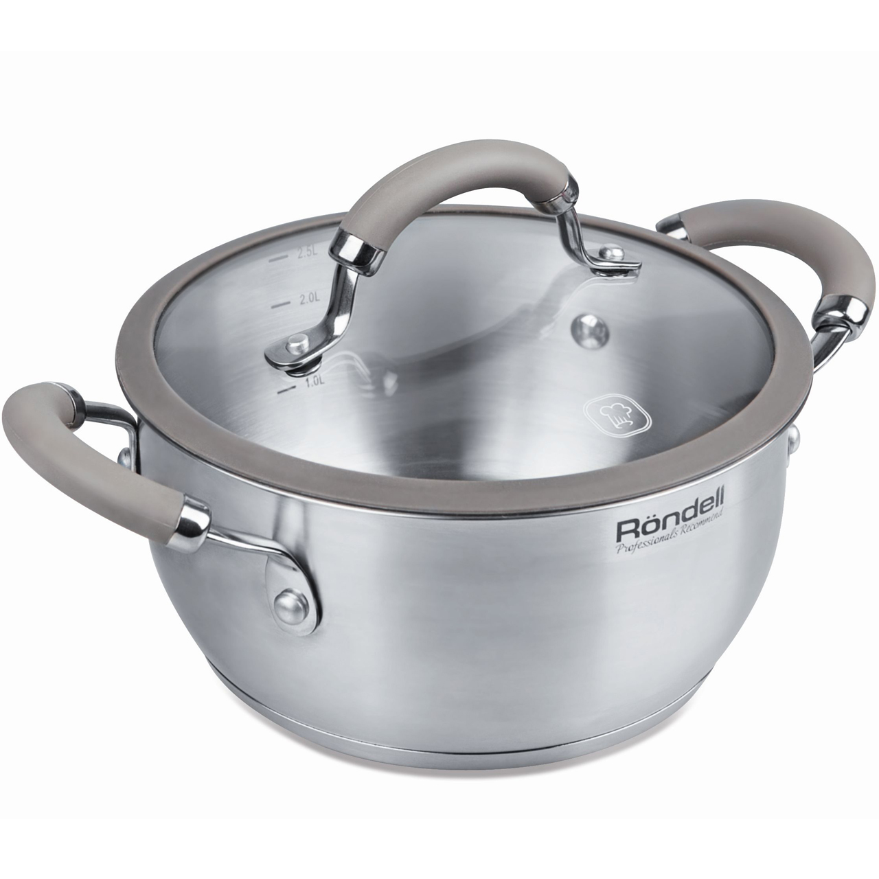 Casserole with lid Rondell Balance (5 L) RDS-755