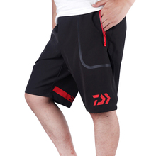 Мужские короткие брюки большого размера для рыбалки, рыбалки, летняя одежда для активного отдыха, походов, альпинизма, спорта, dayiwa, дышащие штаны, бесплатный подарок, полотенце