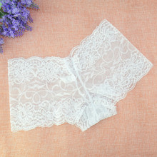 3 Pieces Per Pack Full Lace High-grade Large Size Womens Boxer Briefs Underwear