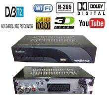 Digital DVB t2 DVB T H.265 HEVC HD Satellite 48~866M TV Receiver Supports DTS Youtube Wifi DVBT2 DVB-T MPEG-2 Set Top TV Box