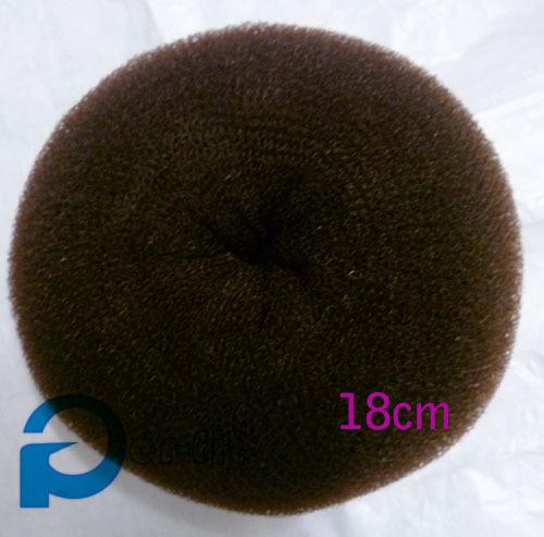 Pelo donut grande pelo grande de pelo del buñuelo bun envío directo de gran tamaño del fabricante del bollo 18 cm
