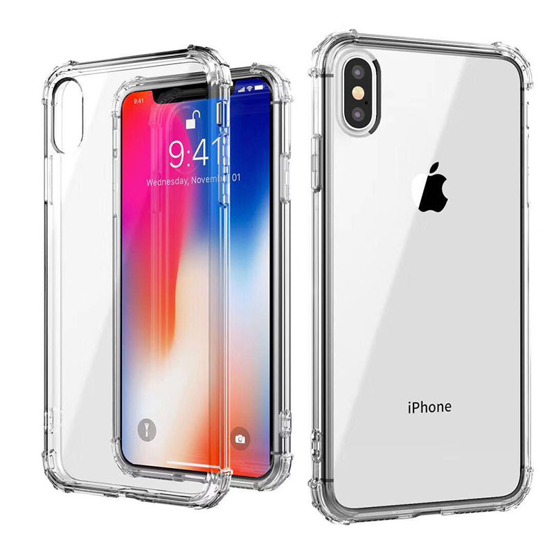 Case For IPhone 7 6 6s 8 X Plus Clear Soft TPU Case Silicone Protective Sleeve Transparent Cover For IPhone 6 5S 4 4S Back Shell
