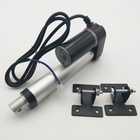 4 inch Stroke 100mm 12V DC 5mm/s 400N 88LBS Pound Linear Actuator Motor Power Sunroof