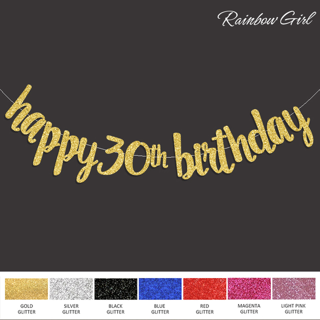 Buy 2017 popular happy 30th birthday for 30th birthday decoration packages