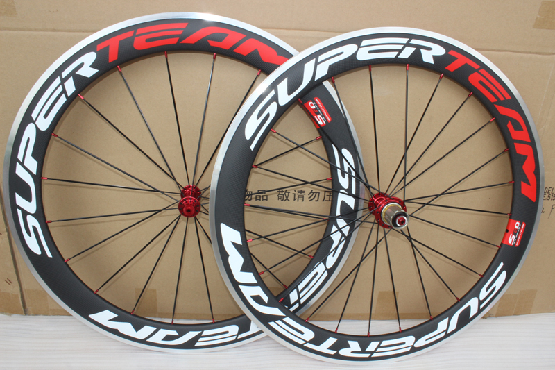 matte finish 700C alloy brake carbon wheels 60mm road bicycle carbon aluminium wheels clincher chinese bike