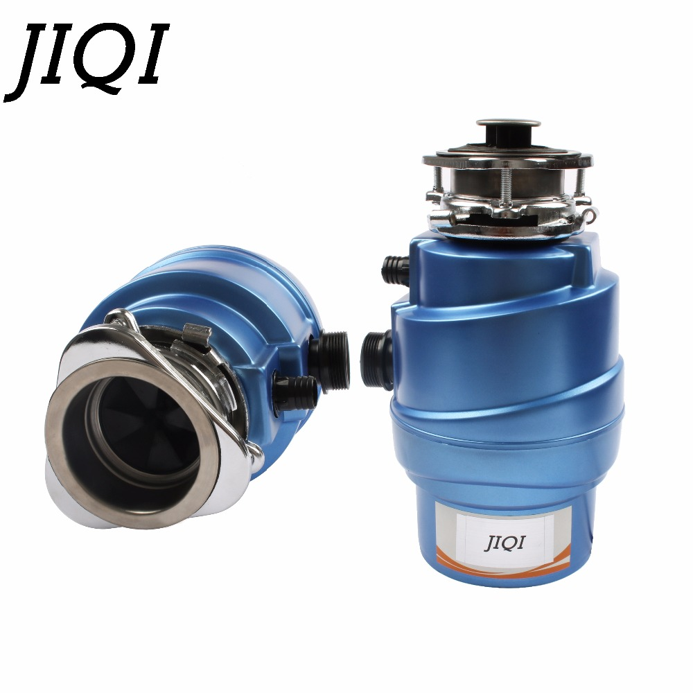 JIQI Food Waste Disposer Garbage Disposal Crusher Kitchen Sink Stainless steel Grinder High-sensitivity Protection System 450W